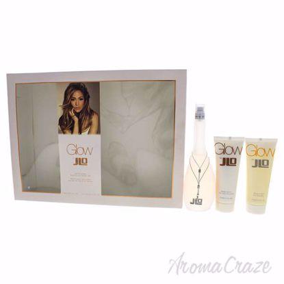 Glow by Jennifer Lopez for Women - 3 Pc Gift Set 3.3oz EDT S