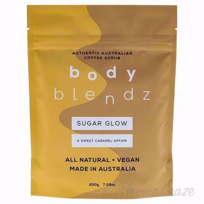 Sugar Glow Coffee Scrub by BodyBlendz for Women - 7 oz Scrub