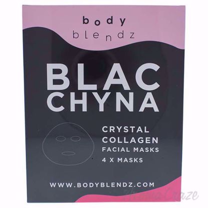 Crystal Collagen Facial Mask by BodyBlendz for Women - 4 Pc