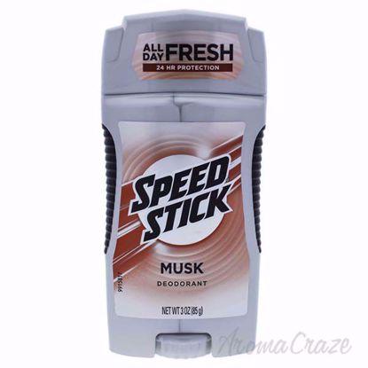 Speed Stick Musk Deodorant by Mennen for Men - 3 oz Deodoran