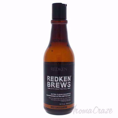 Brew Extra Clean Shampoo by Redken for Men - 10.1 oz Shampoo