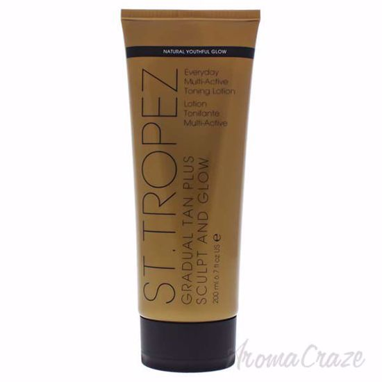 Picture of Gradual Tan Plus Sculpt and Glow Everyday Multi-Active Toning Lotion by St. Tropez for Unisex - 6.7oz Bronzer