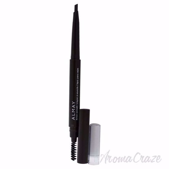 Picture of Brow Pencil Triangle Tip - 802 Brunette by Almay for Women - 0.01 oz Brow Pencil