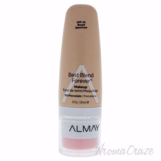 Picture of Best Blend Forever Makeup SPF 40 - 100 Porcelain by Almay for Women - 1 oz Foundation