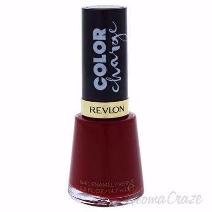 Picture of Color Charge Nail Enamel - 003 Crimson Jelly by Revlon for Women - 0.5 oz Nail Polish