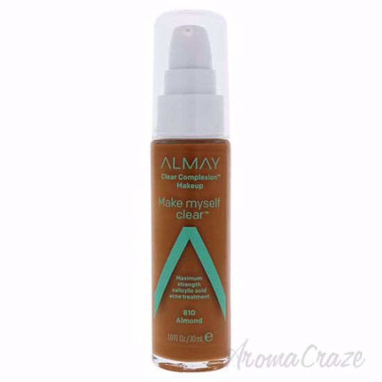 Picture of Clear Complexion Makeup - 810 Almond by Almay for Women - 1 oz Foundation