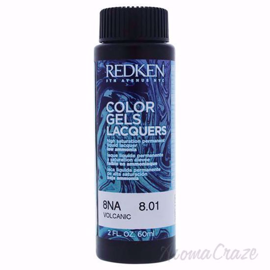 Picture of Color Gels Lacquers Haircolor - 8NA Volcanic by Redken for Unisex - 2 oz Hair Color