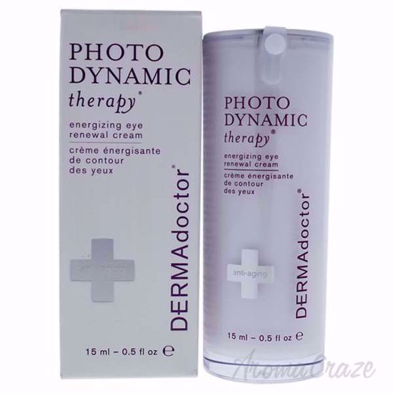 Picture of Photo Dynamic Therapy Energizing Eye Renewal Cream by DERMAdoctor for Women - 0.5 oz Cream
