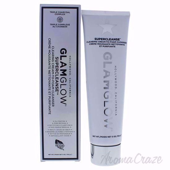Picture of Supercleanse Clearing Cream-To-Foam Cleanser by Glamglow for Women - 5 oz Cleanser
