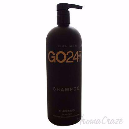 Real Men Shampoo by GO247 for Men - 33.8 oz Shampoo