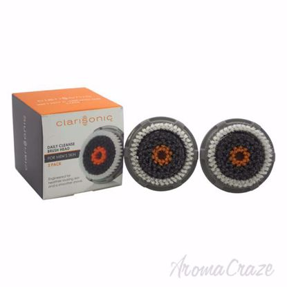 Alpha Fit Mens Daily Cleanse Brush Head Twin Pack by Clariso
