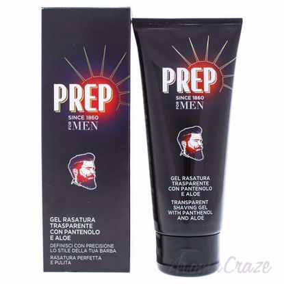 Transparent Shaving Gel with Panthenol and Aloe by Prep for