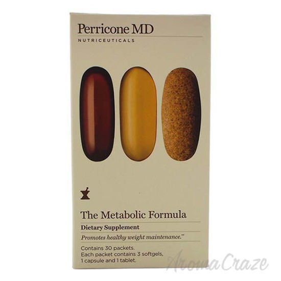 The Metabolic Support Supplements by Perricone MD for Unisex