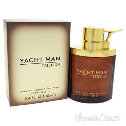 Yacht Man Trillion by Myrurgia for Men - 3.4 oz EDT Spray