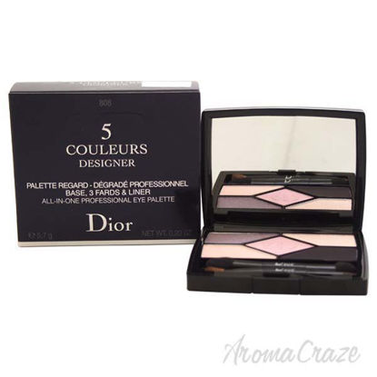 5 Couleurs Designer All-In-One Professional Eye Palette - #