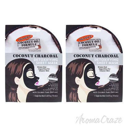 Coconut Charcoal Detoxifying Sheet Mask by Palmers for Women