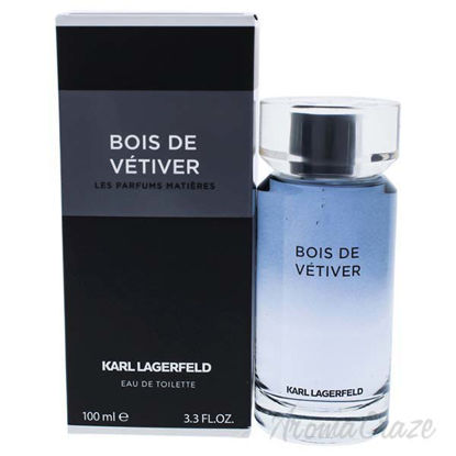 Bois De Vetiver by Karl Lagerfeld for Men - 3.3 oz EDT Spray