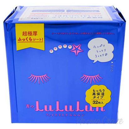 Face Mask Blue by Lululun for Women - 32 Pc Mask