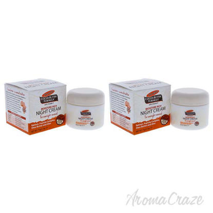 Cocoa Butter Moisture Rich Night Cream by Palmers for Unisex