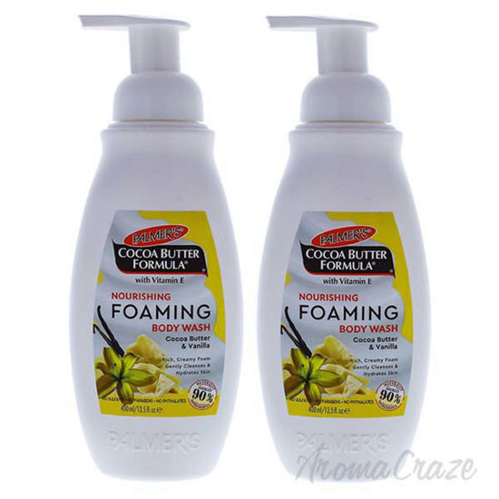 Cocoa Butter Nourishing Foaming Body Wash by Palmers for Uni