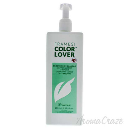 Color Lover Smooth Shine Shampoo by Framesi for Unisex - 33.