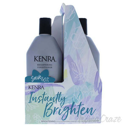 Brightening Duo by Kenra for Unisex - 2 x 33.8 oz Shampoo an