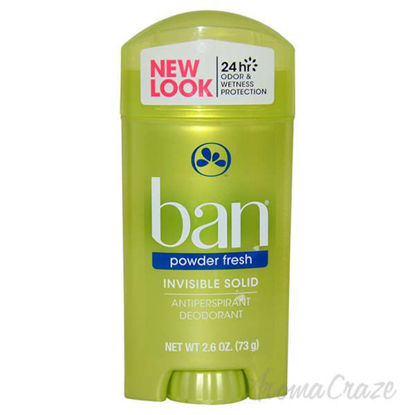 Powder Fresh Invisible Solid Antiperspirant Deodorant by Ban
