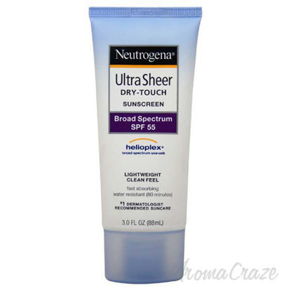 Ultra Sheer Dry-Touch Sunblock SPF-55 by Neutrogena for Unis