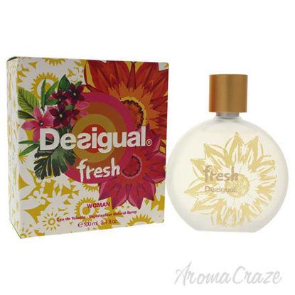 Fresh by Desigual for Women - 3.4 oz EDT Spray