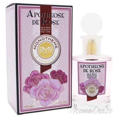 Apotheose De Rose by Monotheme for Women - 3.4 oz EDT Spray