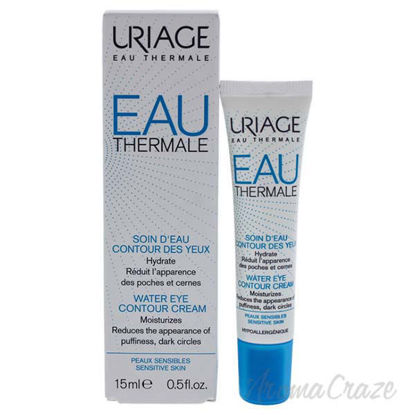 Eau Thermale Eye Contour Cream by Uriage for Unisex - 0.5 oz