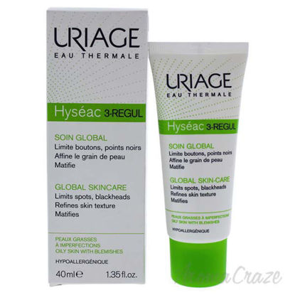 Hyseac - 3-Regul Global Skincare Cream by Uriage for Women -