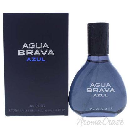 Agua Brava Azul by Antonio Puig for Men - 3.4 oz EDT Spray