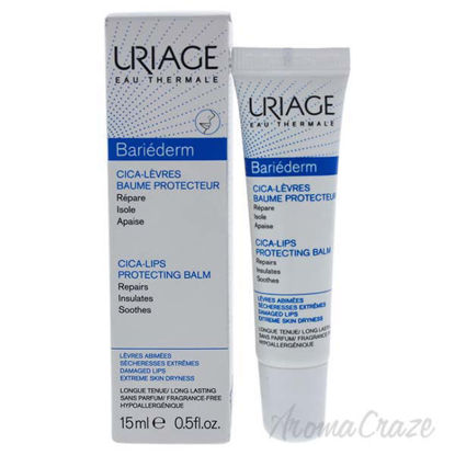 Bariederm Cica-Lips Protecting Balm by Uriage for Unisex - 0