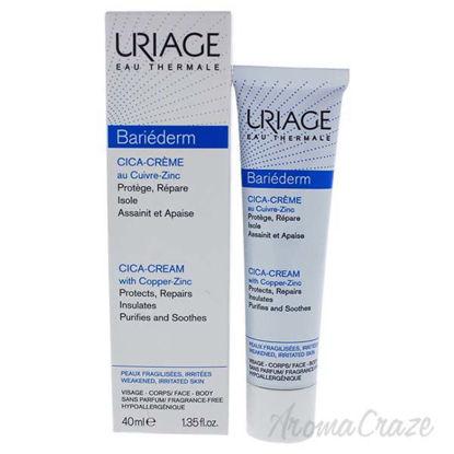 Bariederm Cica-Creme by Uriage for Unisex - 1.35 oz Cream