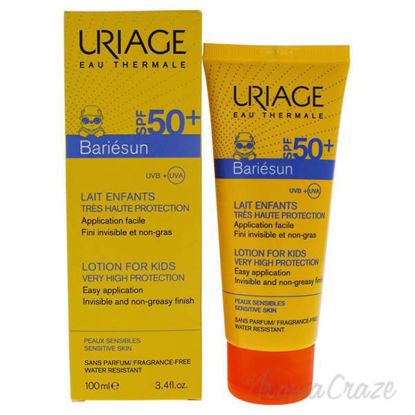Bariesun Milk Lotion For Kids SPF 50 by Uriage for Kids - 3.