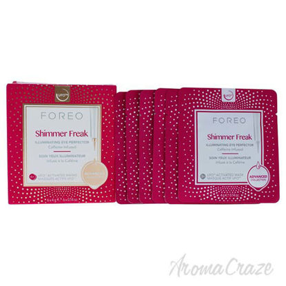 Shimmer Freak Activated Masks by Foreo for Women - 6 x 0.21