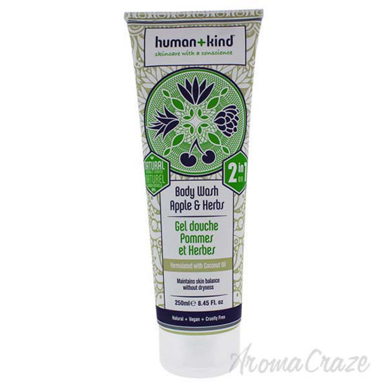 Body Wash - Apple and Herbs by Human+Kind for Unisex - 8.45