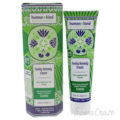 Family Remedy Cream by Human+Kind for Unisex - 3.38 oz Cream