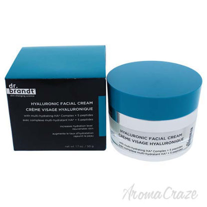 Hyaluronic Facial Cream by Dr. Brandt for Unisex - 1.7 oz Cr