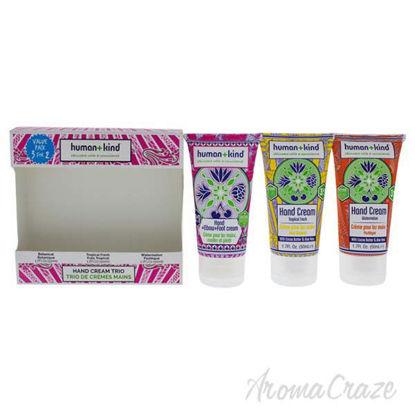 Hand Cream Trio by Human+Kind for Unisex - 3 x 1.7 oz Botani