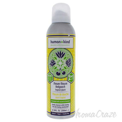 Shower Mousse Bodywash - Tropical Splash by Human+Kind for U