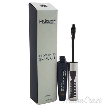 Hi-Def Tinted Brow Gel - Soft Brown by Revitalash for Women