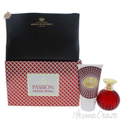 Cristal Royal Passion by Marina de Bourbon for Women - 3 Pc