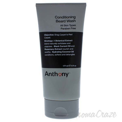 Conditioning Beard Wash by Anthony for Men - 6 oz Beard Wash