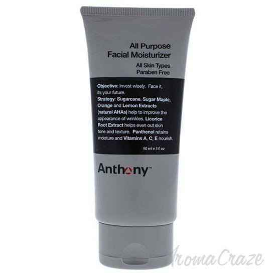 All Purpose Facial Moisturizer by Anthony for Men - 3 oz Moi