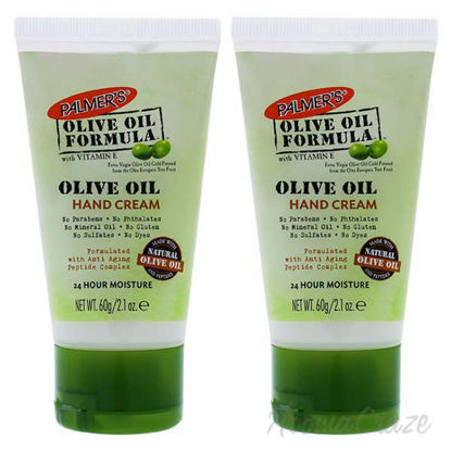 Olive Oil Hand Cream by Palmers for Unisex - 2.1 oz Cream -