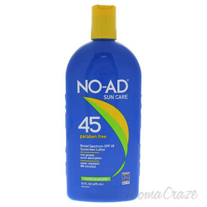 Sunscreen Lotion SPF 45 by NO-AD for Unisex - 16 oz Sunscree