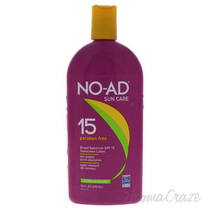 Sunscreen Lotion SPF 15 by NO-AD for Unisex - 16 oz Sunscree