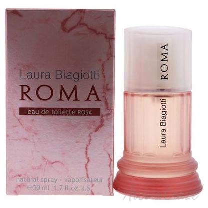 Roma Rosa by Laura Biagiotti for Women - 1.7 oz EDT Spray